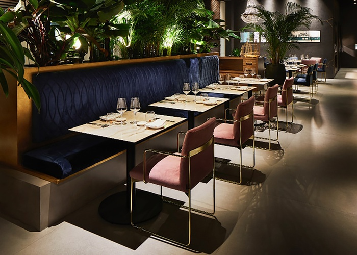 Restyling des Restaurants Niwa
